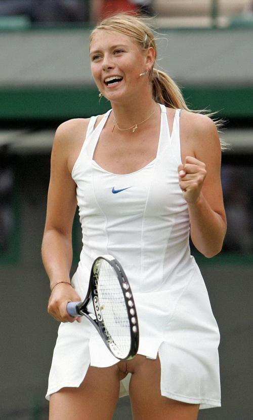 Something Women tennis players no panties very
